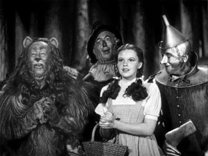 Dorothy and friends...